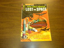 SPACE FAMILY ROBINSON - LOST IN SPACE #28 Gold Key Comics 1968 SCI-FI