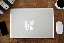 """Love autocollant vinyle autocollant pour apple macbook air/pro laptop 11"""" 12"""" 13"""" 15"""""""