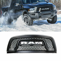 ABS Matte Black Grille Fit For 2015-2018 Dodge Ram 1500 Rebel Mesh Grill