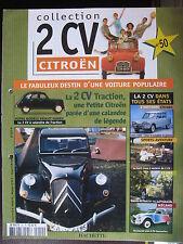 FASCICULE 50 CITROEN 2CV  A CALANDRE DE TRACTION