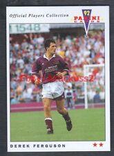 Derek Ferguson Heart Of Midlothian #355 Panini Football 1992 Tra