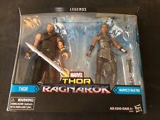"New Marvel Legends THOR RAGNAROK & VALKYRIE 2 Pack Target Exclusive 6"" figures"
