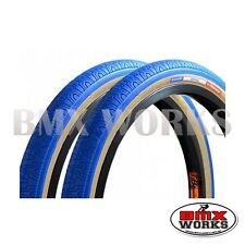 "Panaracer HP406 Blue 20"" X 1.75"" Freestyle BMX Tyres - Sold In Pairs"