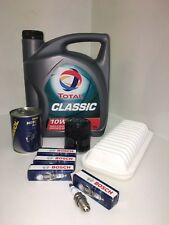 TOYOTA YARIS 1.0 16V SERVICE KIT 99-06 AIR / OIL FILTERS,BOSCH PLUGS, ENGINE OIL