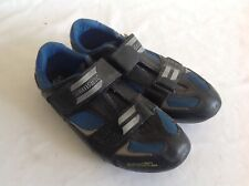 SHIMANO - BLACK BLUE - CYCLING SHOES SIZE 43 EURO SPD SL - USED CONDITION