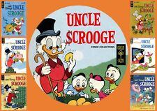 Uncle Scrooge Gold key Comics On DVD Rom