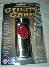 OKLAHOMA SOONERS UTILITY CASE for KNIFE or SUNGLASSES - NEW IN PACKAGE