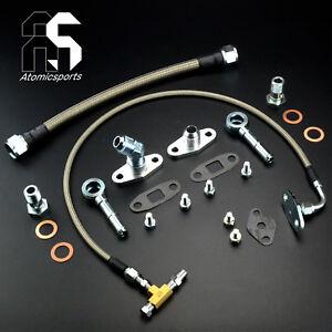 Turbo Oil Water line Kit For HKS T51R KAI SPL