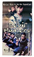 DEVIL HUNTERS VHS - Rare Moon Lee, Sibelle Hu, Alex Man Tai Seng ENGLISH DUBBED