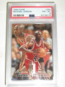1994-95 Flair Michael Jordan PSA 8