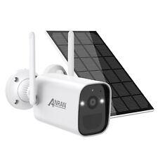 Funk Akku/Solar Kamera kabellose WLAN Überwachungskamera Außen 2-Wege-Audio IP66