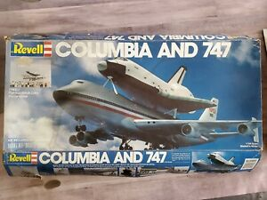 Revell Space Shuttle Columbia and 747 NASA Aircraft1:144 Plastic Model Kit 4715