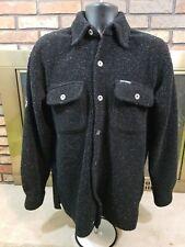 Harley Davidson Full Button Fleece Embroidered Jacket Coat Mens Size XS Black