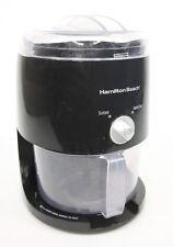 Hamilton Beach Ice Shaver Slushy Maker CV03/68507 - W 4370 Black