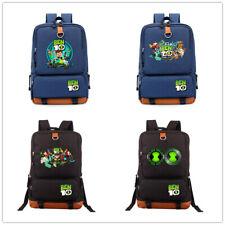 Ben 10 Reboot canvas Backpack kid's Omnitrix Mochila Laptop Travel bag sport Bag