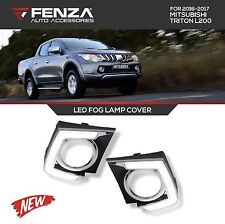 LED FOG LAMP COVER FOR 2016-2017 MITSUBISHI TRITON L200 LED DAYTIME RUNNING