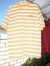 Mens Medium Shirt_ANGELES NATIONAL GOLF CLUB_Cotton/Polyester_Yellow/White_M