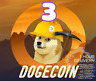 3 Dogecoin (DOGE) Crypto currency Mining Contract 1 HOUR DELIVERY