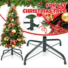 Artificial Christmas Tree Stand Green Holder Base Iron Stand Holiday Home Decor