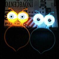 Leuchtende Alien-Augen leuchten Stirnband Kostüm Set Super Party-Zubehör I0W8