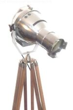 1950'S THEATRE LAMP LIGHT ART DECO FILM ANTIQUE MAJOR STRAND EAMES MOVIE TRIPOD