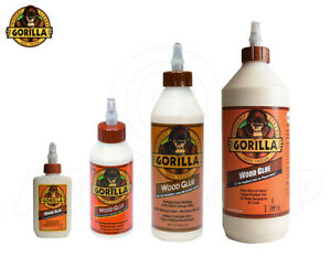 Gorilla PVA Wood Glue Adhesive Carpentry Water Resistance Strong Durable Fast
