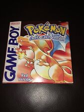 Game Boy Color POKEMON RED - Excellent Condition BOXED Nintendo Eur