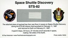 Own a Genuine Piece of Space Shuttle Discovery - Flown in Space - For Just $9.95