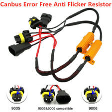 2x CANBUS LED Load Resistor 9005 HB3 For DODGE High Beam Headlight Wire Harness