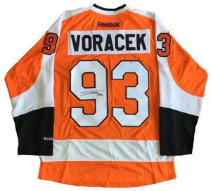Jakub Voracek Signed Philadelphia Flyers Reebok Jersey (JSA COA) 7th Pk 2007 Dft