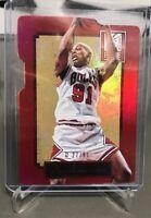 2013-14 Panini Elite Status Diecut Dennis Rodman 27/91 Chicago Bulls