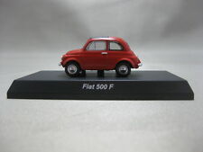 1:64 Kyosho FIAT 500F Red Diecast Model Car Minicar Collection