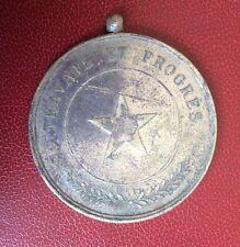 Congo Belge - Très Rare Médaille de  CHEFFERIE INDIGENE - vers 1910