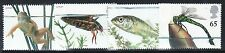 GB GREAT BRITAIN 2001 POND LIFE SET NEVER HINGED MINT