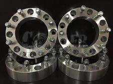 """4 X WHEEL SPACERS 8 LUG ADAPTERS FORD SUPER DUTY EXCURSION 2.0"""" Thick 8X170"""