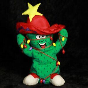 Electronic Musical Animated Dancing Southwestern FELIZ NAVIDAD Christmas Cactus