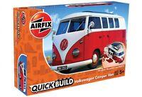 AIRFIX J6017  VW Camper Van - QUICKBUILD Novita'