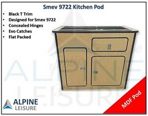 Mercedes Sprinter Caravan Camper kitchen MDF Sink Smev 9722 Pod unit