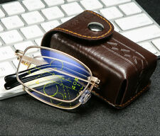 Folding Anti Blue ray Progressive/Multifocal/Bifocal/reading glasses Far/Near