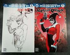 Harley Quinn 1 Michael Turner Aspen Color And Sketch Variant Nm