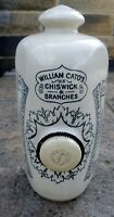 Large  Size Doulton stoneware chemist  footwarmer bottle William Cato Chiswick