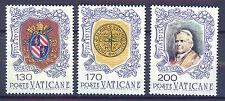 VATICANO VATICAN 1978 MNH SC.632/634 Pope Pio IX