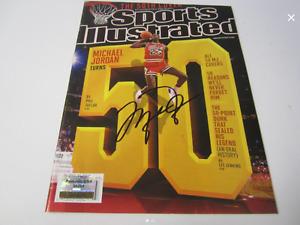 Michael Jordan Signed 1993 Sports Illustrated Autographed Bulls  (Cert.# 94264)