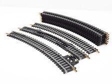 LIMA 10 RAILS COURBES ACIER R 360 mm REF. 3030 - ECHELLE H0 1/87  #1