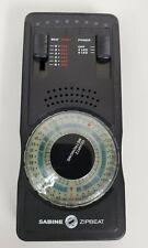 Sabine Zipbeat Quartz Metronome Excellent Condition