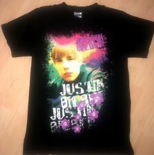 2010 My World Tour Justin Bieber 2-Sided Concert T-Shirt Unisex Size Small