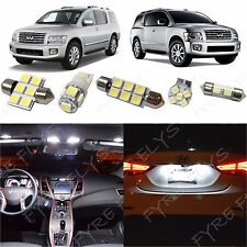 19x White LED lights interior package kit for 2004-2010 Infiniti Qx56 IQ2W