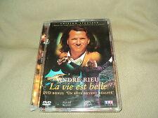 """COFFRET 2 DVD """"ANDRE RIEU : LA VIE EST BELLE / UN REVE DEVENU REALITE"""""""