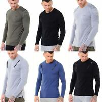 Mens Loyalty Faith Long Sleeve Slim Fit Designer Cotton Fashion T shirt Tee Top