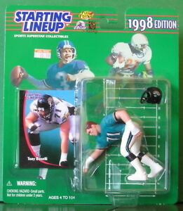 1998 Tony Boselli Rookie Jacksonville Jaguars Starting Lineup in pkg w/ card